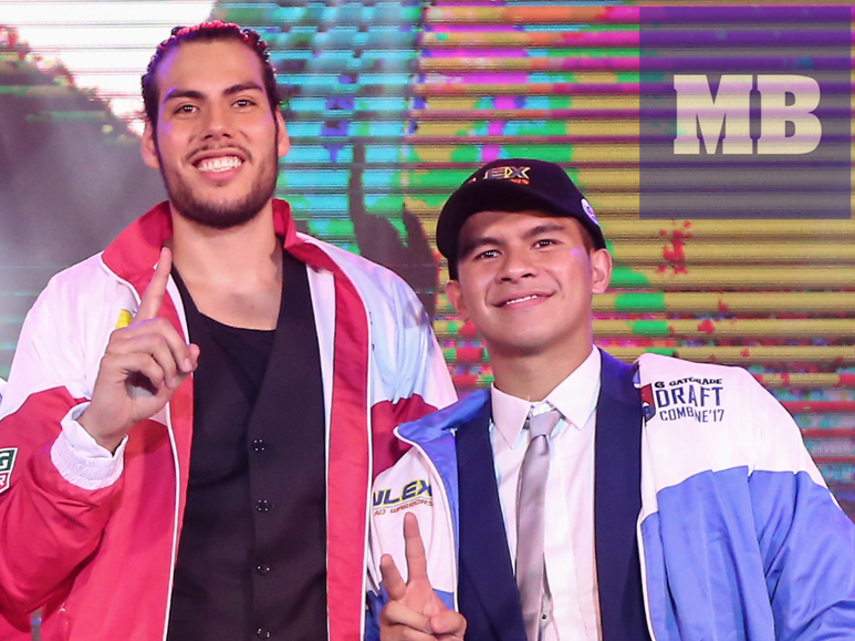 Christian Standhardinger and Keifer Ravena