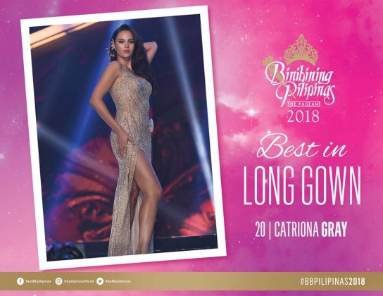catriona gray-best in long gown