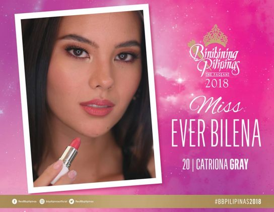 catriona gray-miss ever bilena