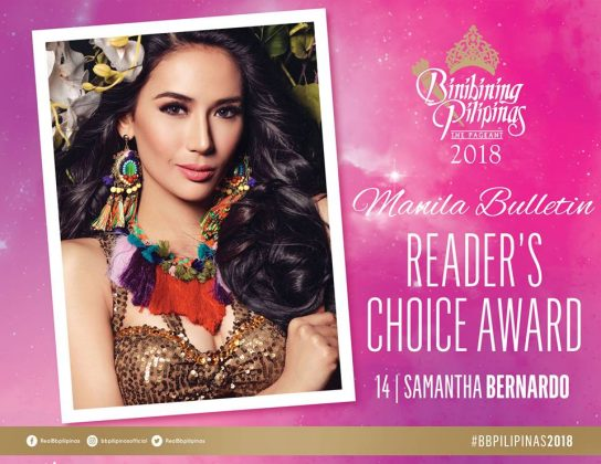 samantha bernardo-reader's choice award