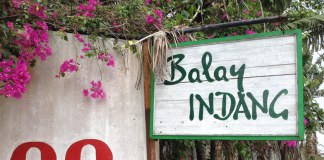 Balay Indang's main entrance