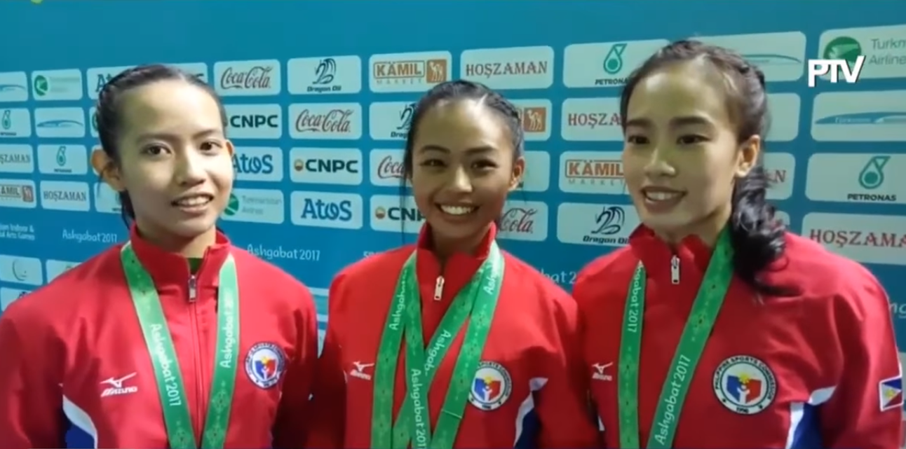 female taekwondo poomsae winner bronze