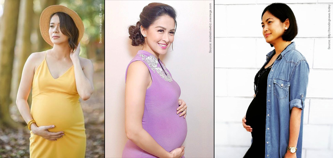 LJ Reyes, Marian Rivera, Mirriam Quiambao